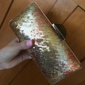 Sondra Roberts Sequin Evening Bag